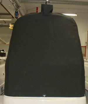 Styrpulpetöverdrag Classic 565 grå/svart