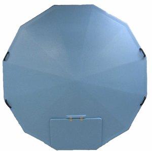 Plastlock till badtunna 2,3 (isolerat)